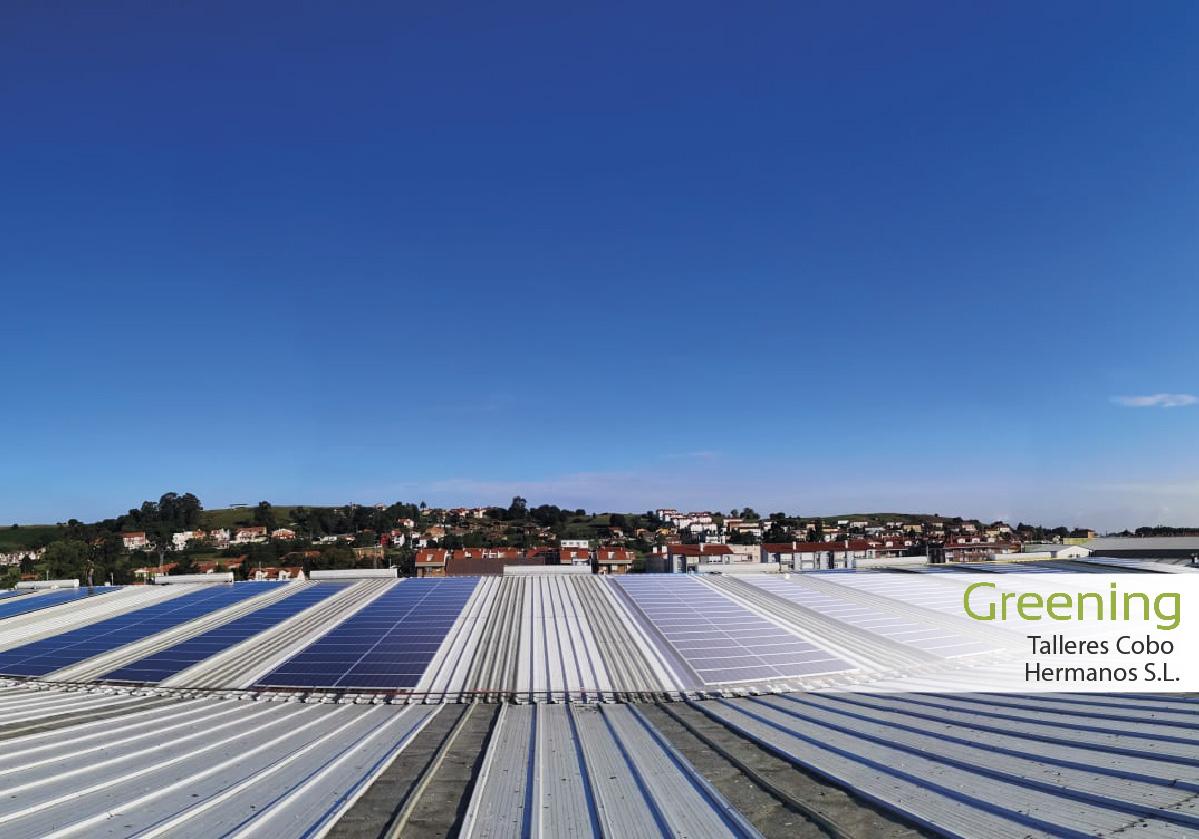 Instalación fotovoltaica de 96,60 kWp en Cantabria