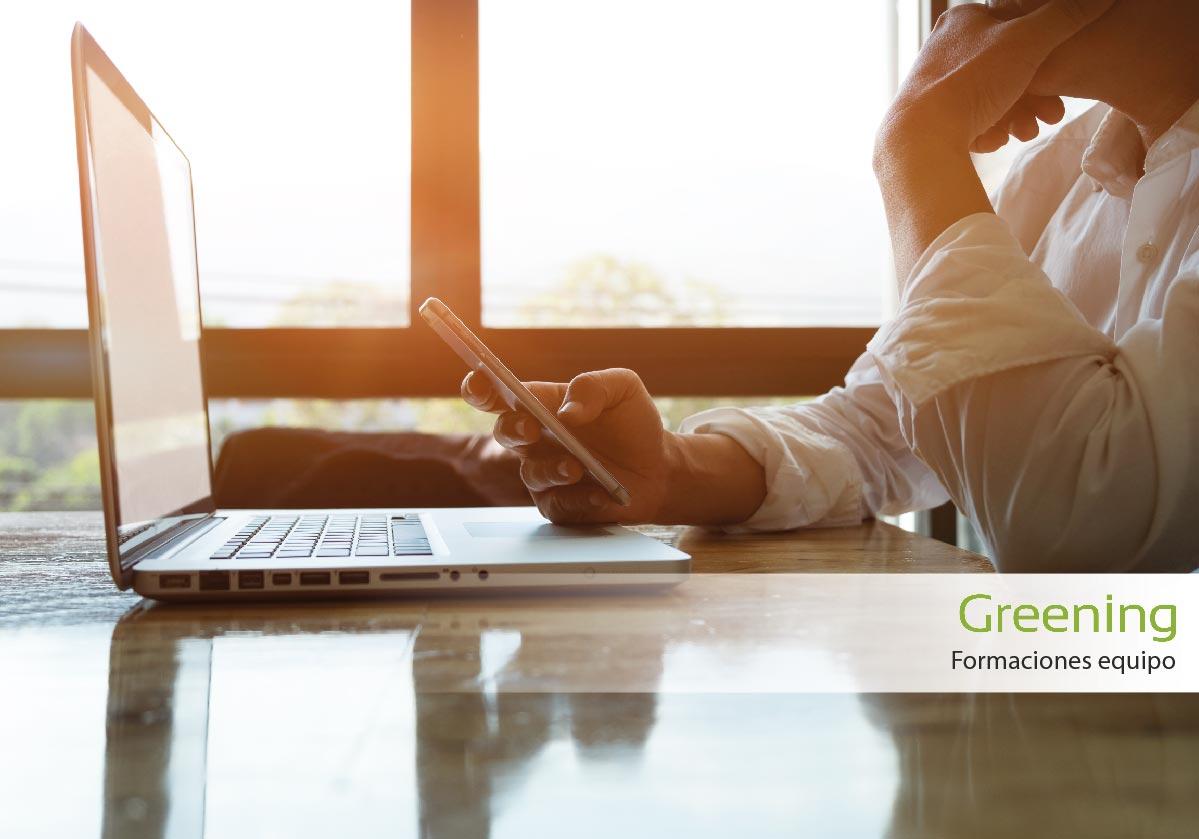 Formaciones online para el equipo de Greening