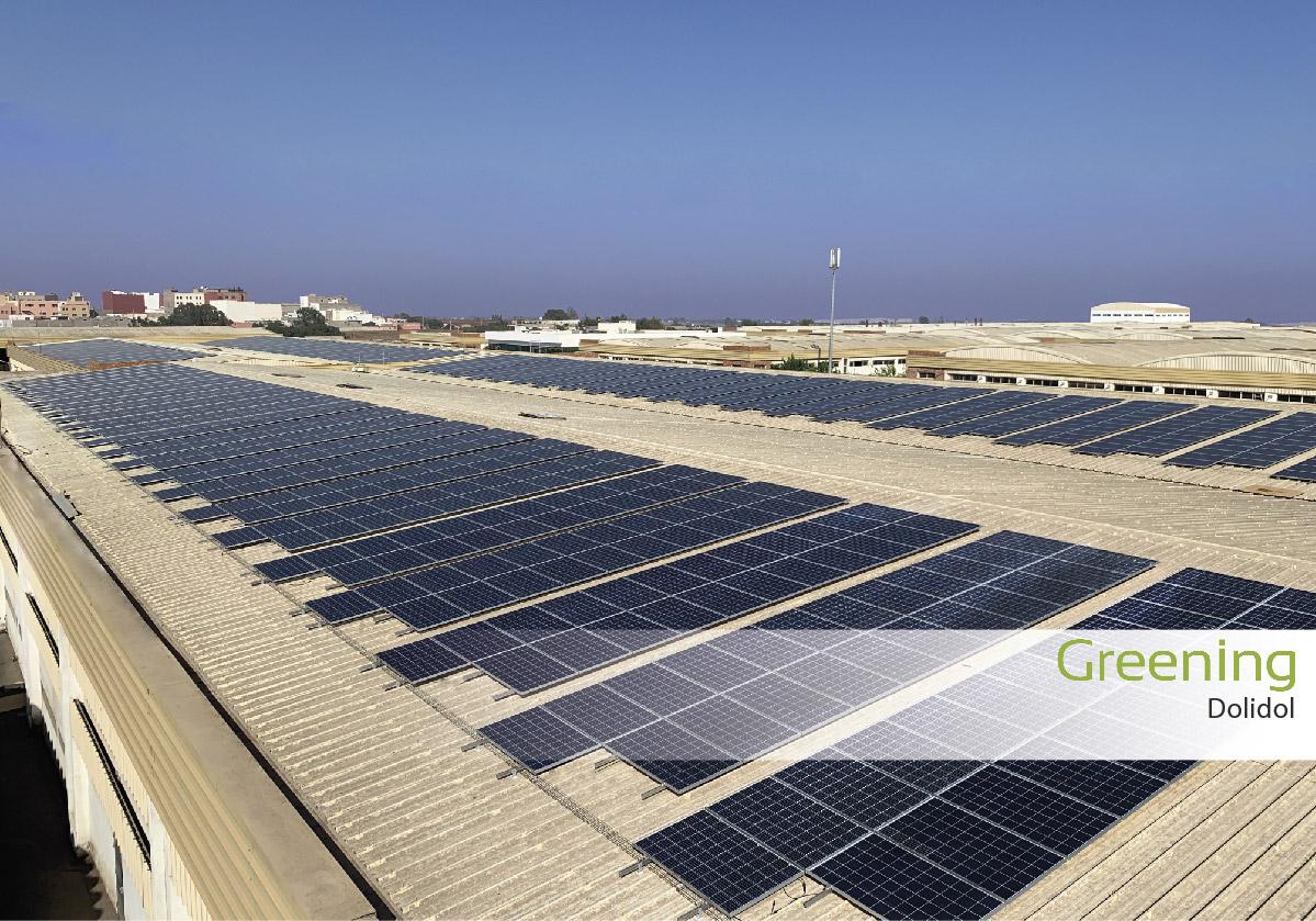 Fase I de la instalación fotovoltaica de 618 kWp en Casablanca