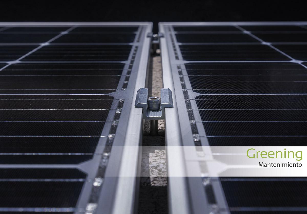 Mantenimiento de paneles solares