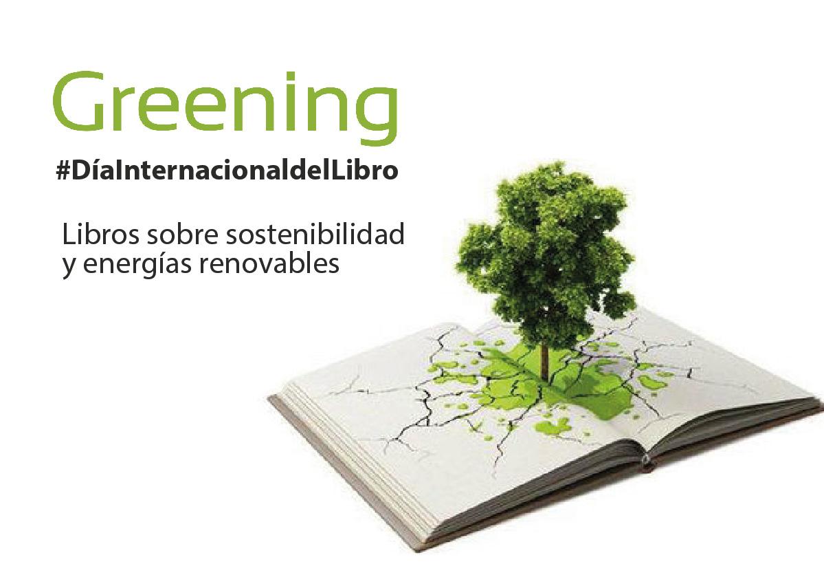 Libros sobre sostenibilidad y energías renovables