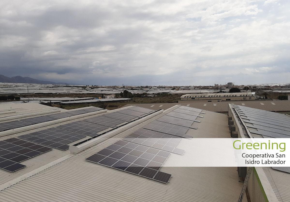 Instalación fotovoltaica de 205,8 kWp en Almería