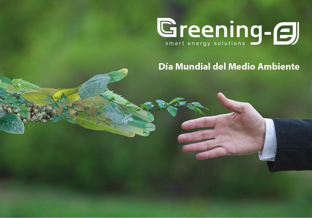 En Greening-e celebramos el Día Mundial del Medio Ambiente