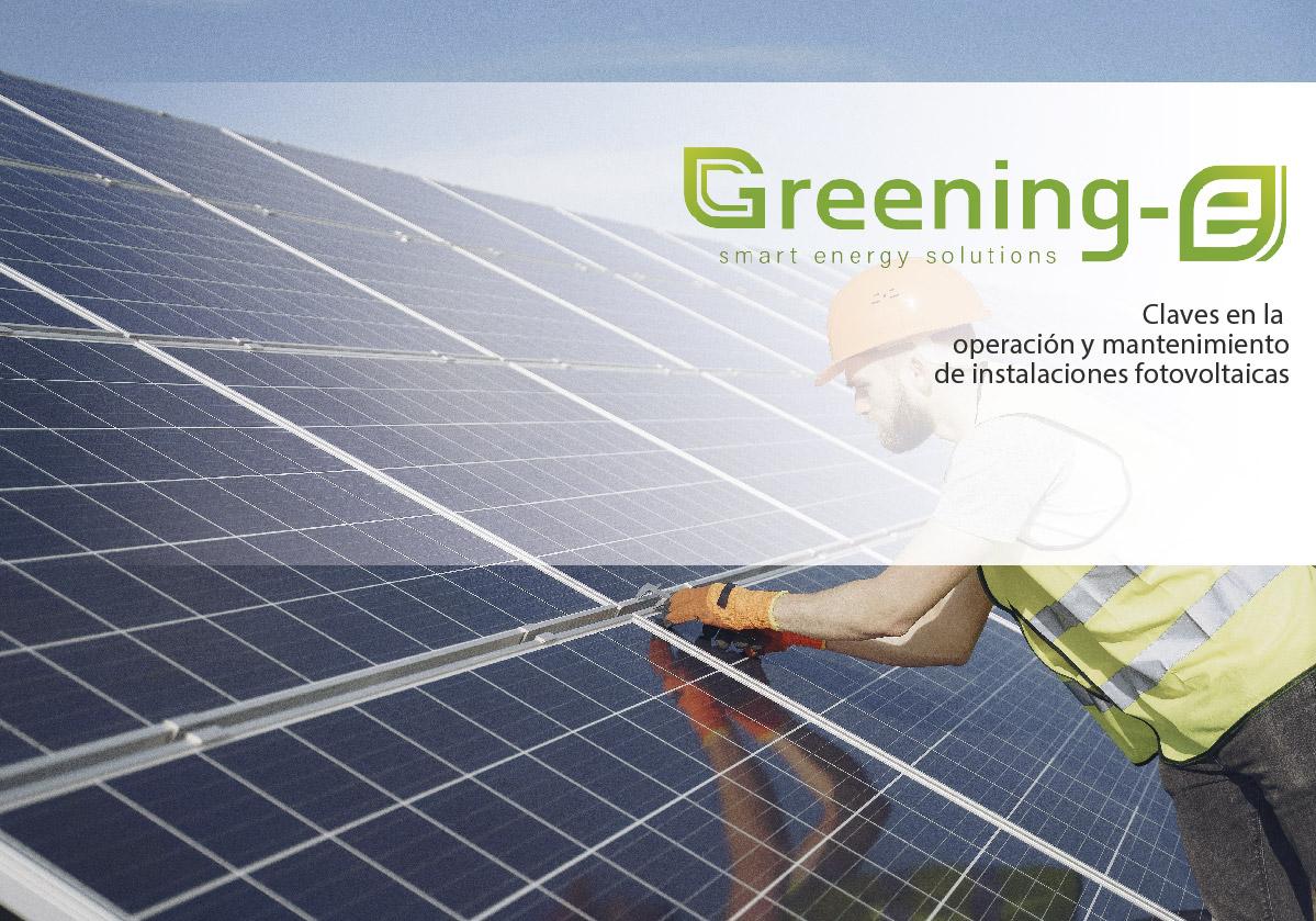 Claves en la operación y mantenimiento de instalaciones fotovoltaicas