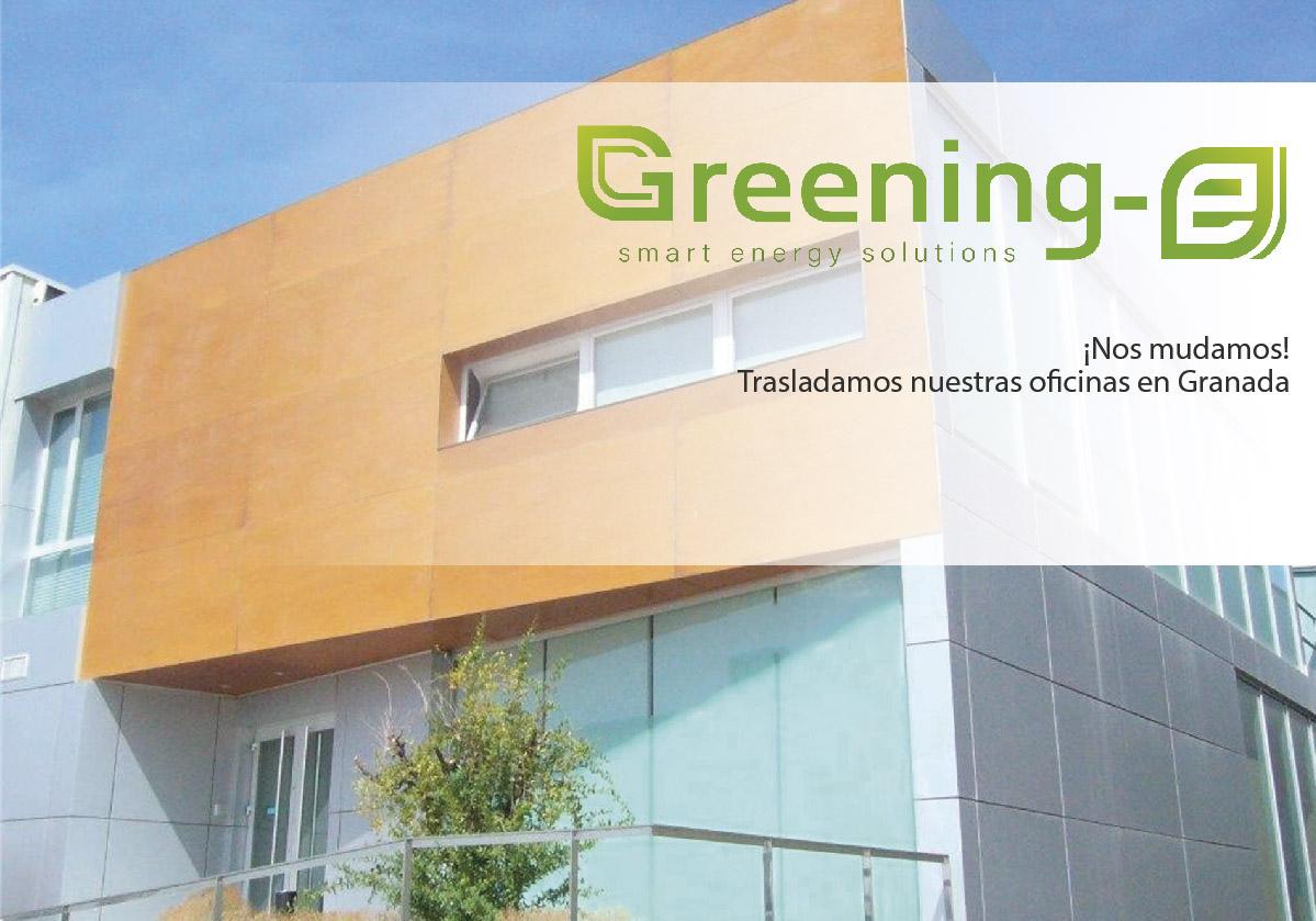 ¡Nos mudamos! Trasladamos nuestras oficinas en Granada