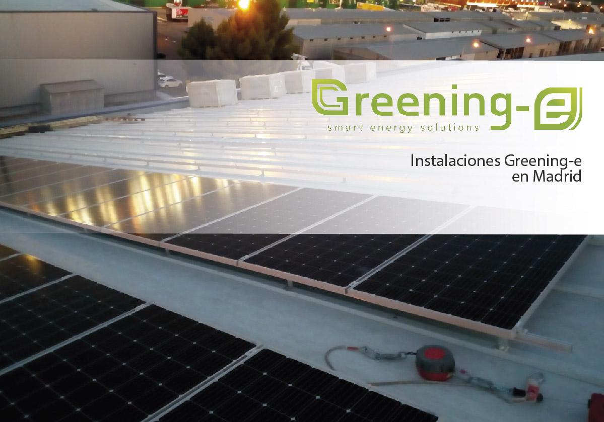 Instalación fotovoltaica de 238,68 kWp en Madrid