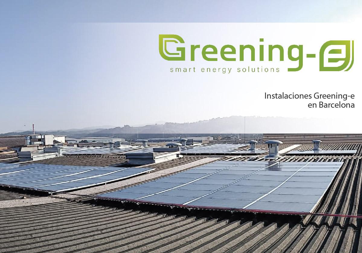 Instalación fotovoltaica de 117,04 kWp en Barcelona