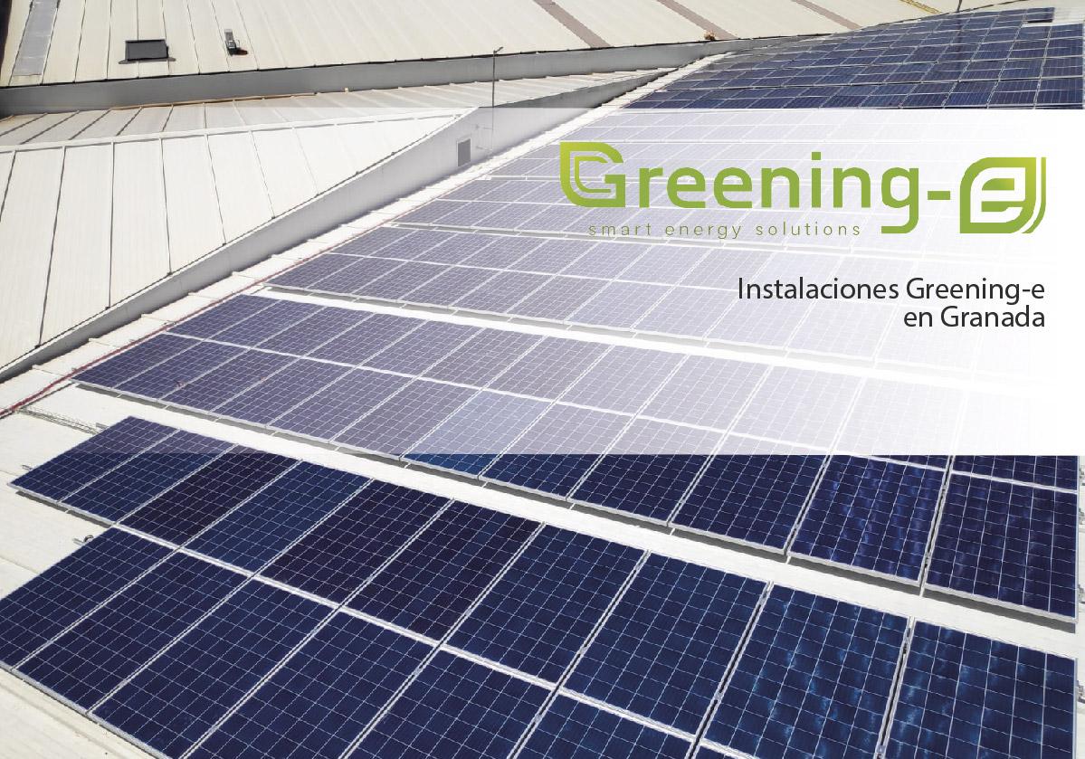 Instalación fotovoltaica de 70,56 kWp en Granada